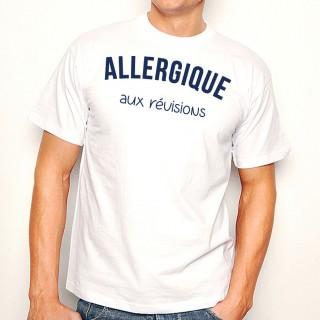 T-shirt Allergique aux révisions