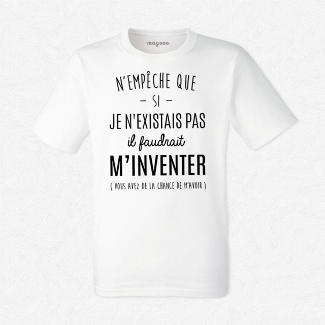 T-shirt N'empêche que