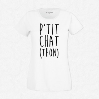 T-shirt P'tit chat (thon)