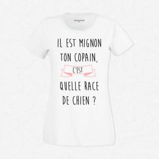 T-shirt Quelle race de chien