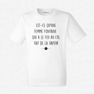 T-shirt Femme fontaine