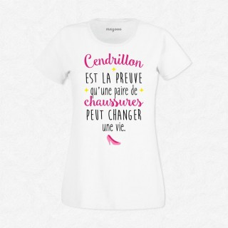 T-shirt Cendrillon