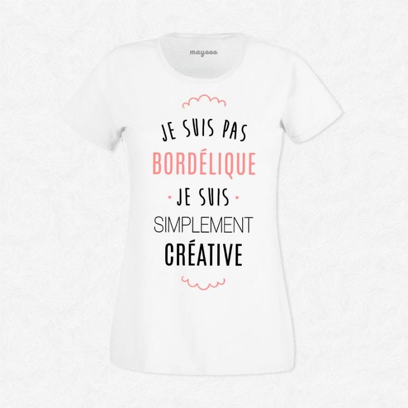 T-shirt Je suis pas bordélique