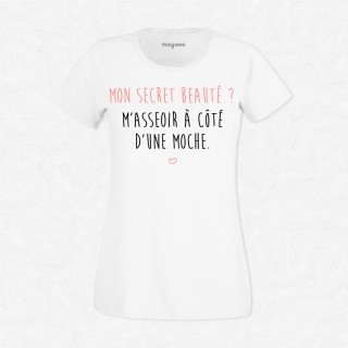 T-shirt Mon secret beauté
