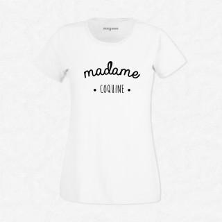 T-shirt Madame coquine