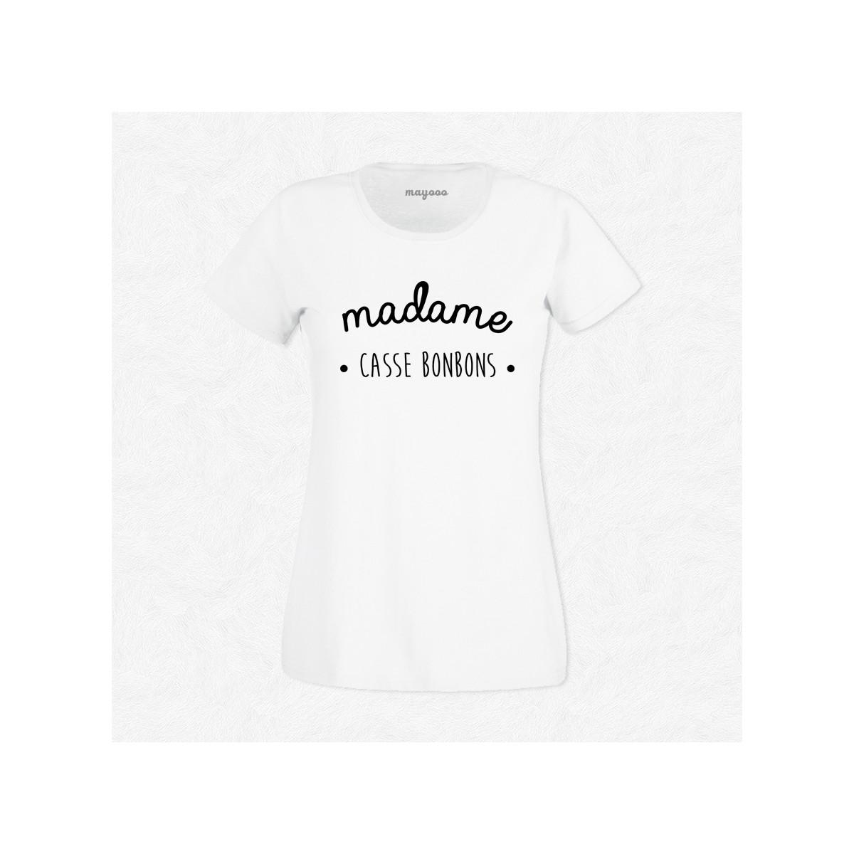 T-shirt Madame casse bonbons
