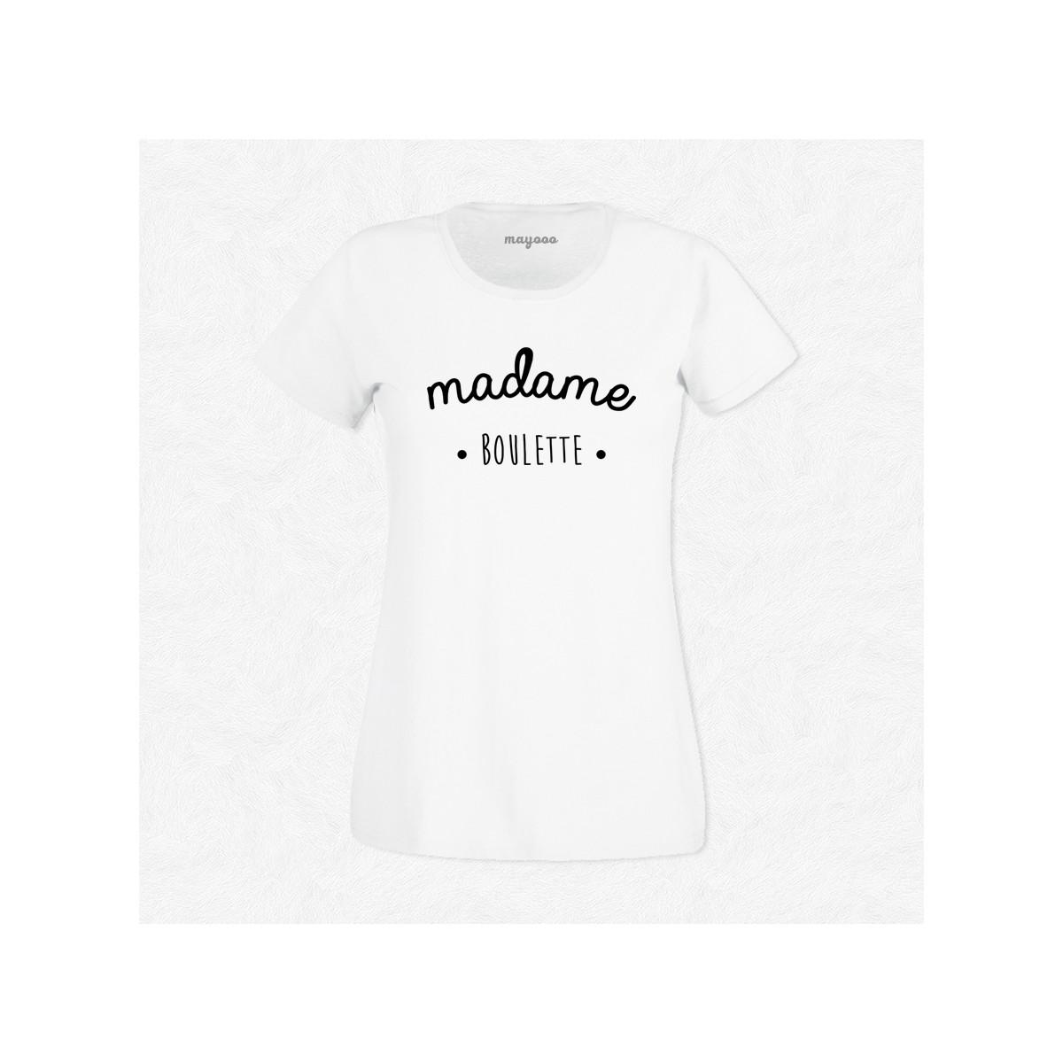 T-shirt Madame boulette