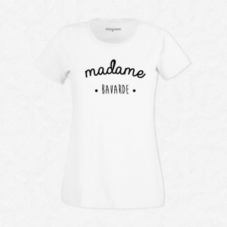 T-shirt Madame bavarde