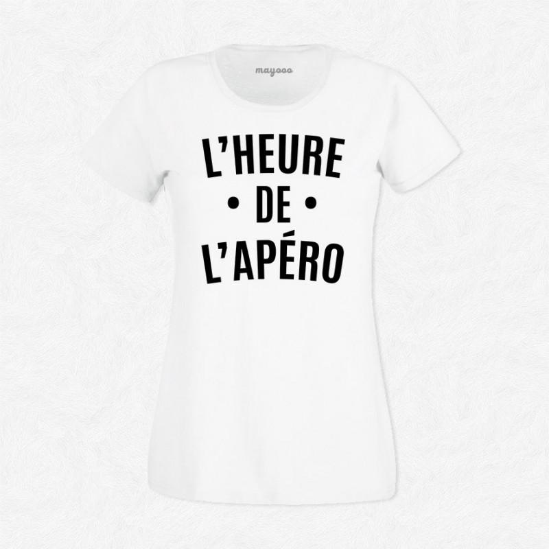T-shirt L'heure de l'apéro