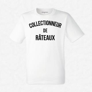 T-shirt Collectionneur de râteaux