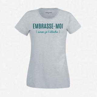 T-shirt Embrasse-moi