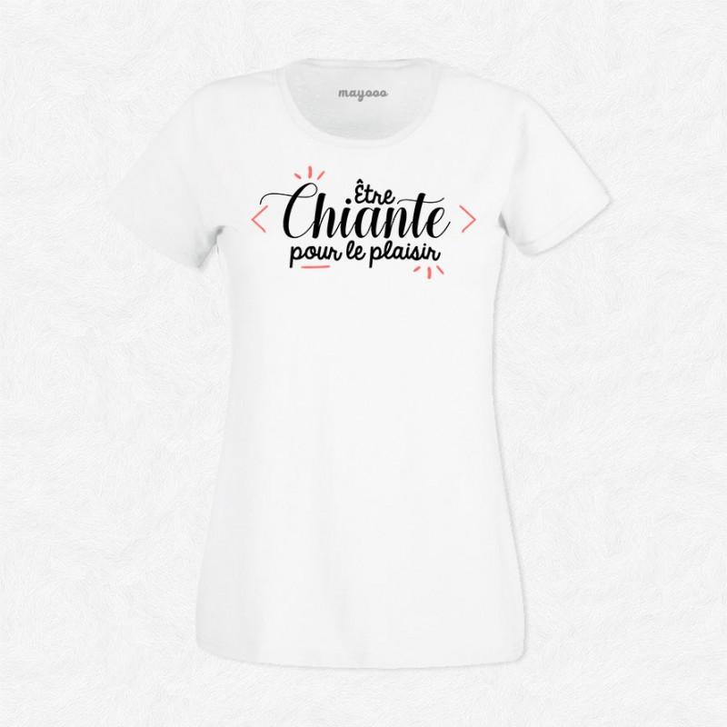 T-shirt être chiante