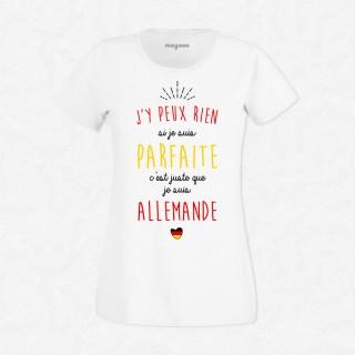 T-shirt Je suis Allemande
