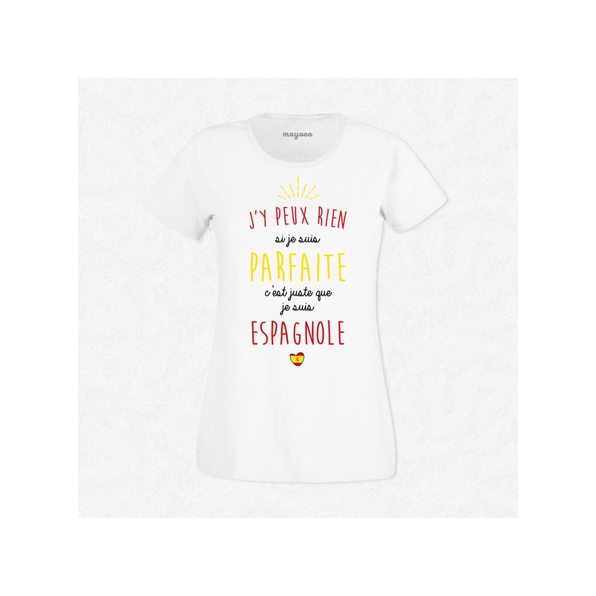 T-shirt Je suis Espagnole
