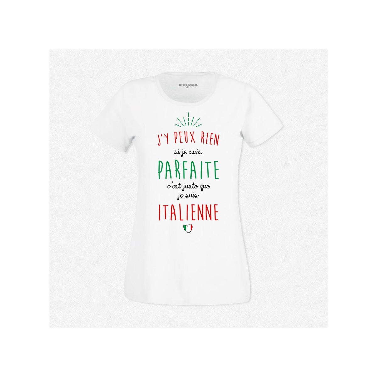 T-shirt Je suis Italienne