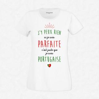 T-shirt Je suis Portugaise