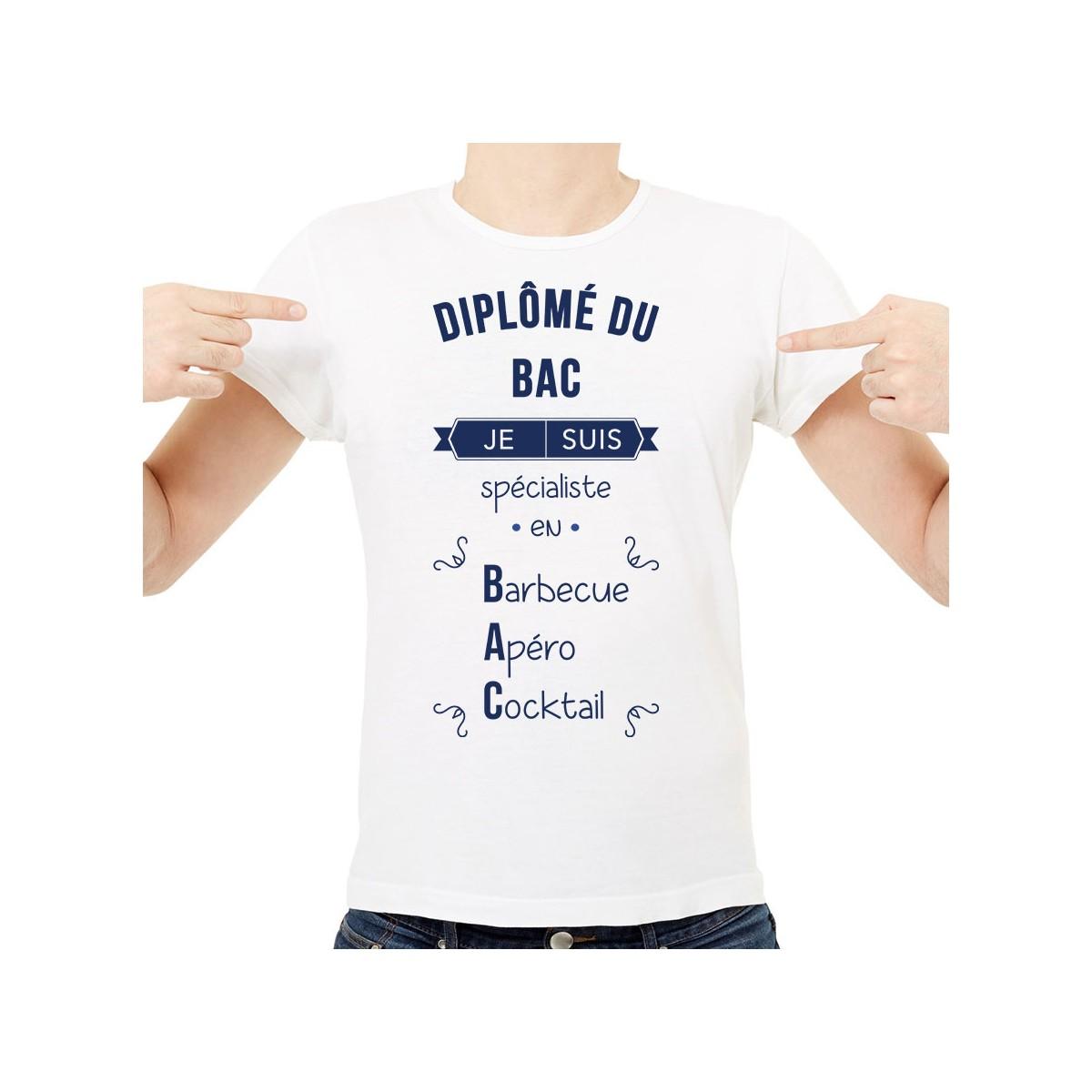 T-shirt Spécialiste en BAC