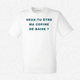 T-shirt Copine de baise