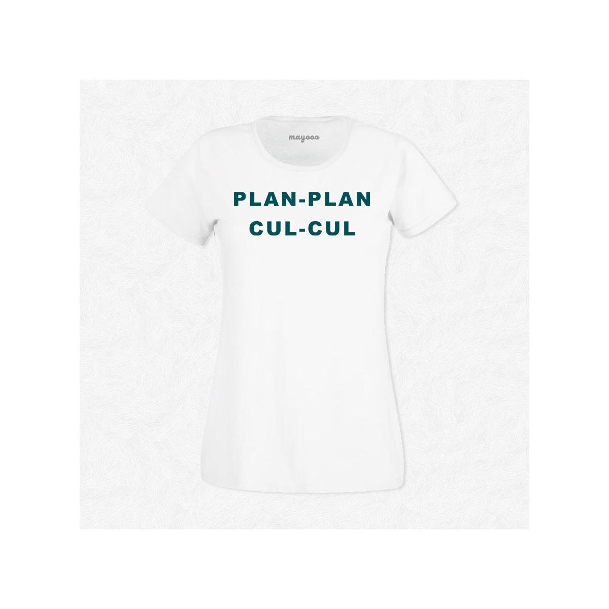 T-shirt Plan plan cul cul
