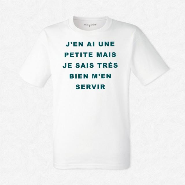 T-shirt J'en ai une petite