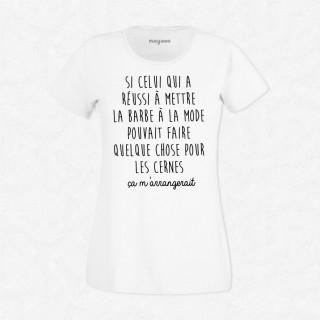 T-shirt Les cernes