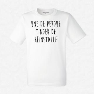 T-shirt Une de perdue