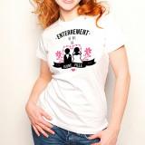 T-shirt Enterrement de vie de jeune fille