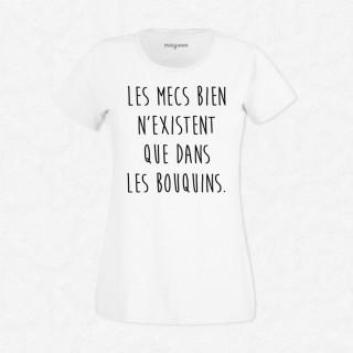 T-shirt Les mecs bien