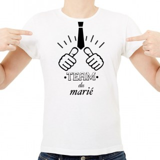 T-shirt Team du marié