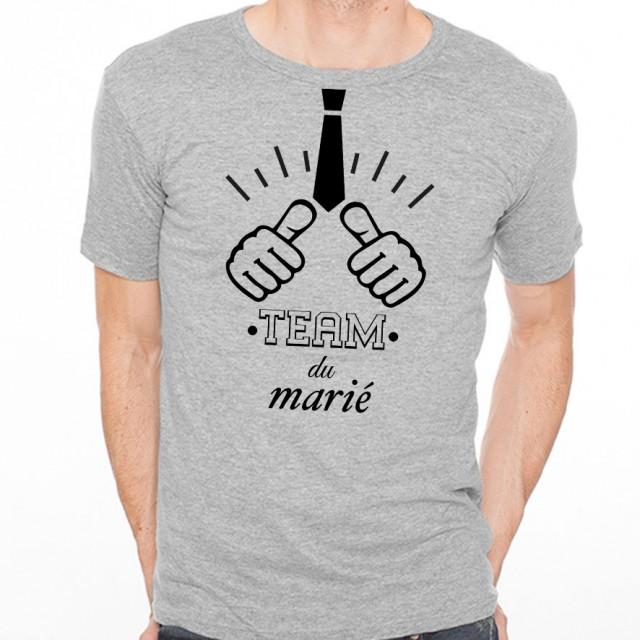 T-shirt Team du marié