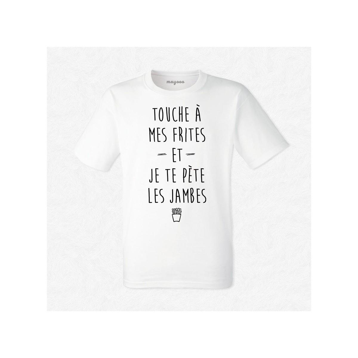T-shirt Touches à mes frites