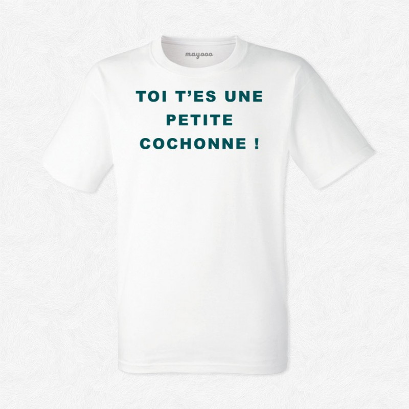 T-shirt Petite cochonne