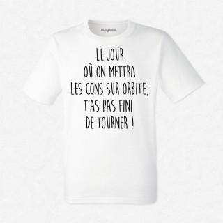 T-shirt Le jour où...