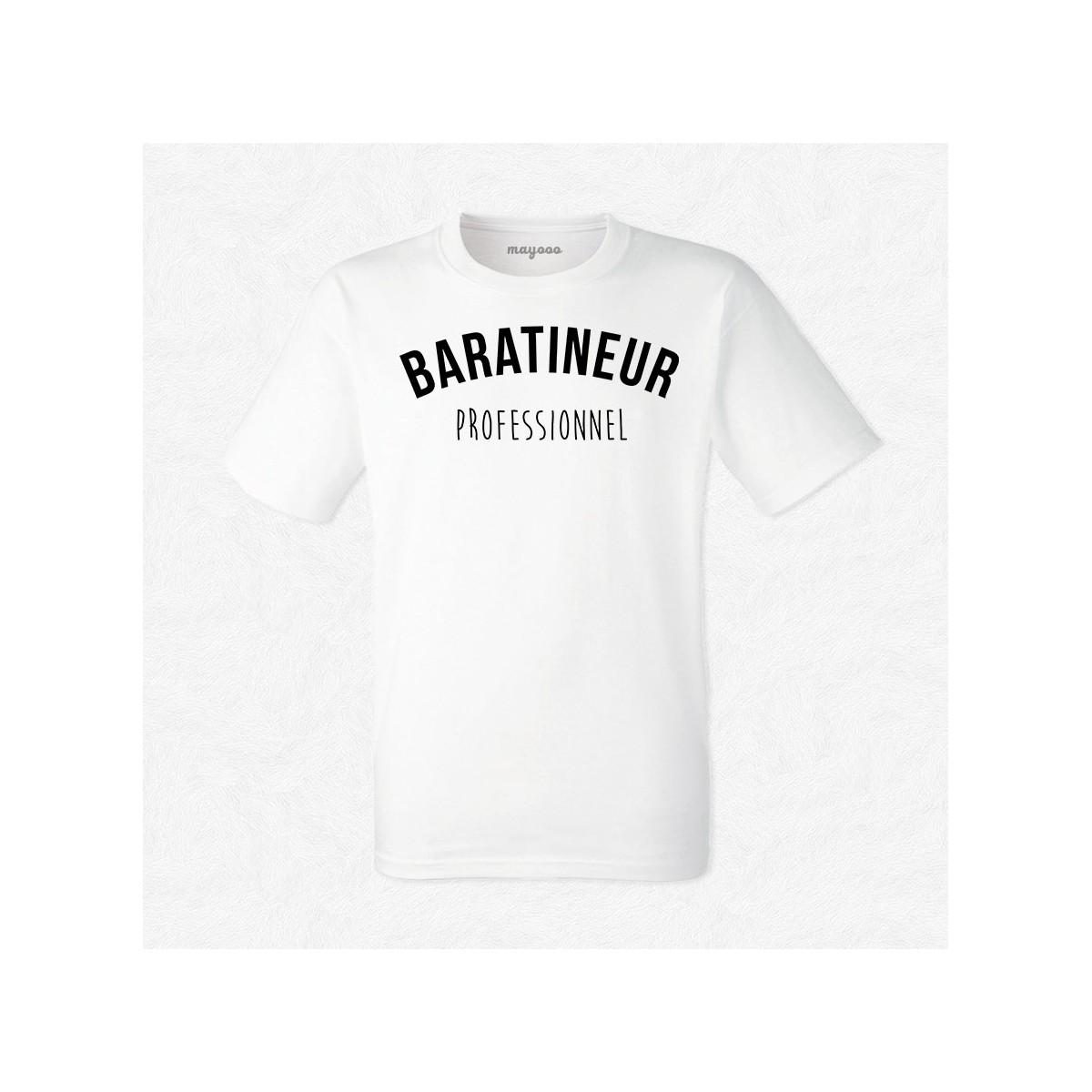 T-shirt Baratineur professionnel