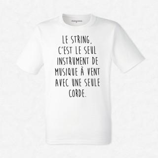 T-shirt Le string