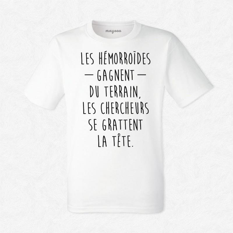 T-shirt Les hémorroïdes