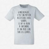 T-shirt Gynécologue