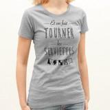 T-shirt Tourner les serviettes