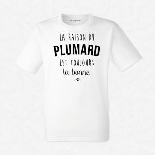 T-shirt La raison du plumard