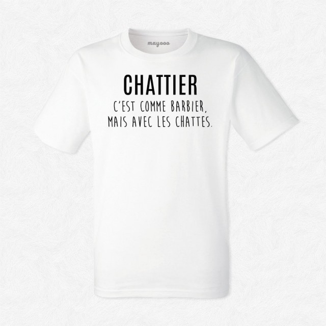 T-shirt Chattier