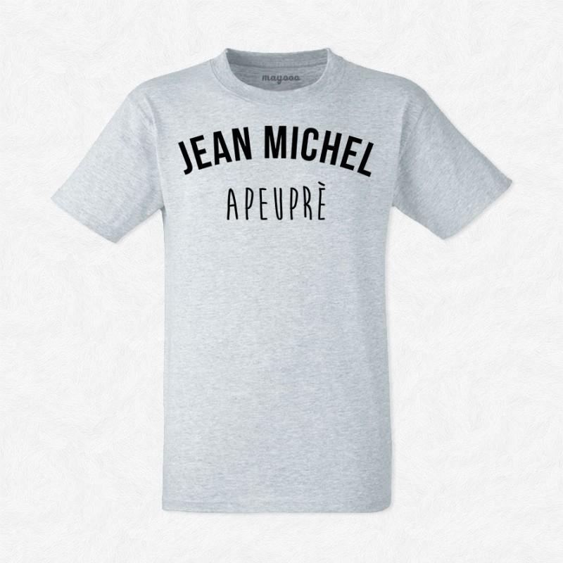 T-shirt Jean Michel apeuprès