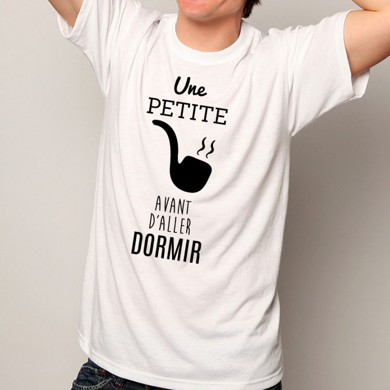 T-shirt Une petite pipe
