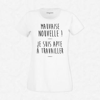 T-shirt Mauvaise nouvelle