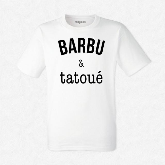 T-shirt Barbu & tatoué