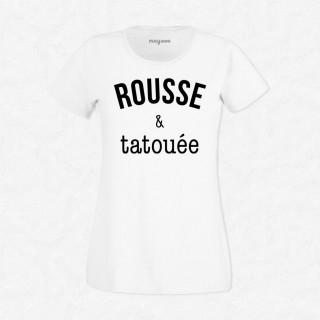 T-shirt Rousse & tatouée