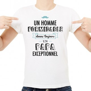 T-shirt Un homme formidable