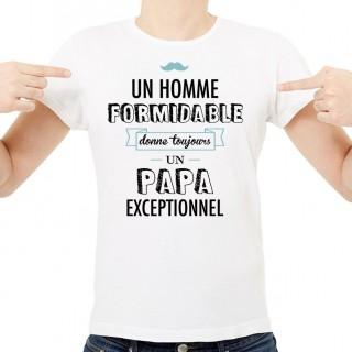 T-shirt Un homme formidable