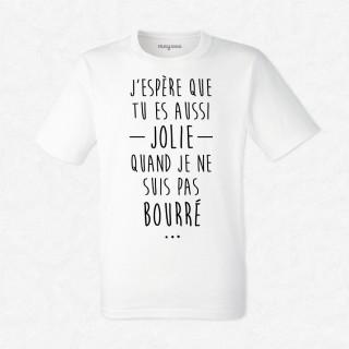T-shirt Aussi jolie que