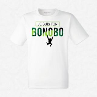 T-shirt Je suis ton bonobo