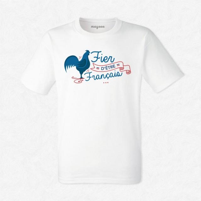 T-shirt Fier d'être français